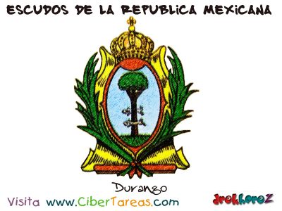 Escudo de Durango – Escudos de la República Mexicana 0