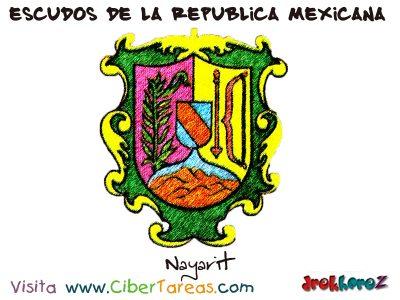 Escudo de Nayarit – Escudos de la República Mexicana 0