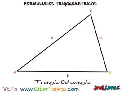 Formulario Trigonométrico – Resolución de Triángulos Oblicuángulos 0