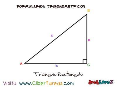 Formulario Trigonométrico – Resolución de Triángulos Rectángulos 0