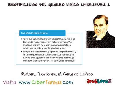 Género Lírico – Identificación del Genero Lírico en Literatura 2 4