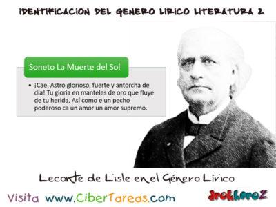 Género Lírico – Identificación del Genero Lírico en Literatura 2 3