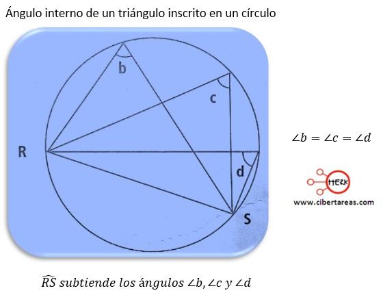 Suma de ángulos interiores – Matemáticas 2 | CiberTareas