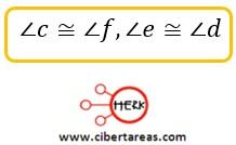 Ángulos formados por dos rectas paralelas y una secante – Matemáticas 2 7