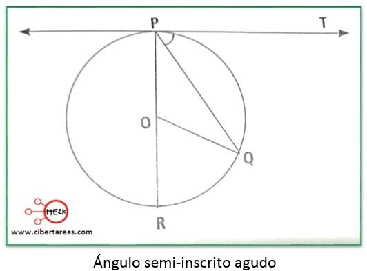 Teorema del ángulo central y el ángulo semi-inscrito – Matemáticas 2 1