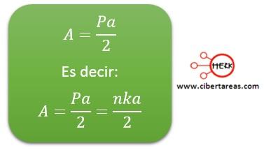Área del circulo – Matemáticas 2 4