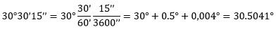 Conversión de ángulos en grados a radianes y viceversa – Matemáticas 2 23