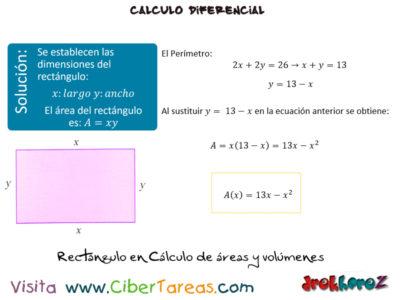 Cálculo de Áreas y Volúmenes en los Modelos Matemáticos – Cálculo Diferencial 2