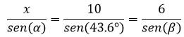 Ley de senos –Matemáticas 2 21