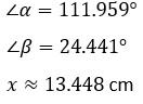 Ley de senos –Matemáticas 2 27