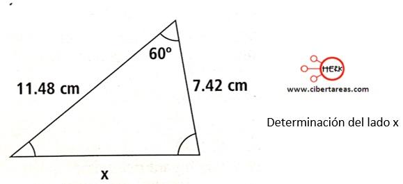 Ley de cosenos – Matemáticas 2 14