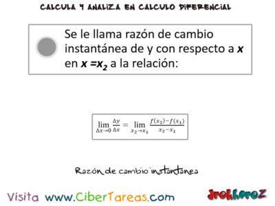 El Incremento de una variables en una función – Cálculo Diferencial 4