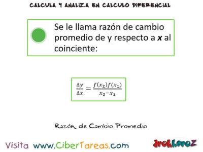 El Incremento de una variables en una función – Cálculo Diferencial 3