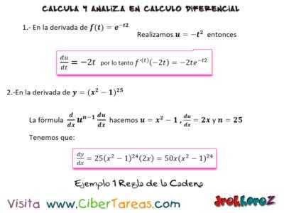 Ejemplos de la Regla de la Cadena – Cálculo Diferencial 0