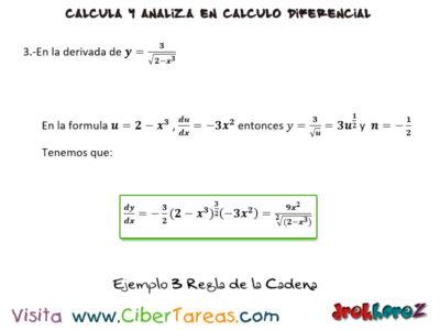 Ejemplos de la Regla de la Cadena – Cálculo Diferencial 1