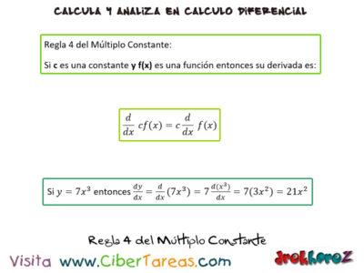 Las Reglas para Derivar – Cálculo Diferencial 4
