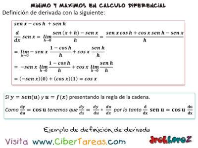 Reglas para derivar las funciones trigonométricas – Cálculo Diferencial 2