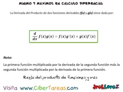 La regla del producto de funciones y más reglas para derivar – Cálculo Diferencial 0