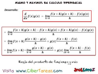 La regla del producto de funciones y más reglas para derivar – Cálculo Diferencial 1