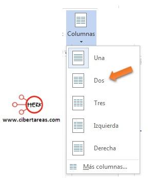Como insertar dos columnas en un texto – Gestión de archivos de texto 6