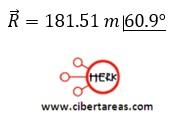 Suma de vectores por el método de las componentes – Física 1 15