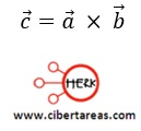 Producto entre dos vectores, producto vectorial – Física 1 3