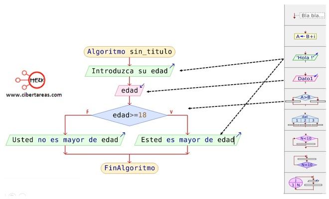 Pasos para elaborar un diagrama de flujo en PSeInt – Programación 6