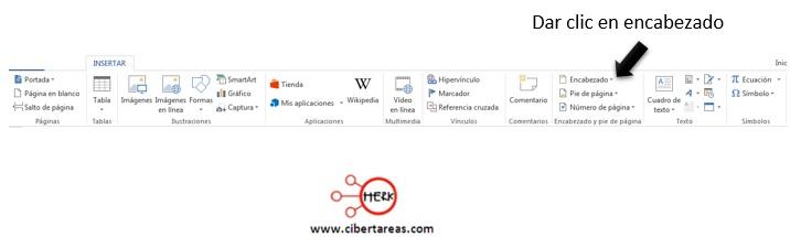 Como insertar un pie de página y encabezado en Word – Gestión de archivos de texto 2