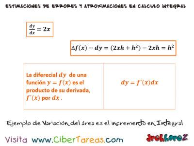 La Diferencial en el Cálculo Integral 2