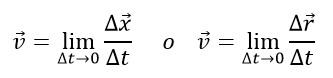Velocidad instantánea – Física 1 1