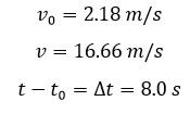 Aceleración – Física 1 12