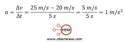 Aceleración – Física 1 9