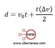 Movimiento rectilíneo con aceleración constante, ejemplo – Física 1 10