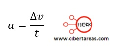 Movimiento rectilíneo con aceleración constante, ejemplo – Física 1 11