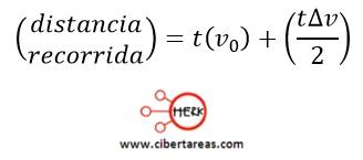 Movimiento rectilíneo con aceleración constante, ejemplo – Física 1 9