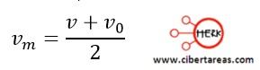 Distancia recorrida por un cuerpo en función de sus velocidades – Física 1 9