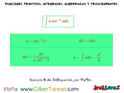 Ejemplos de Integración por Partes – Cálculo Integral 0