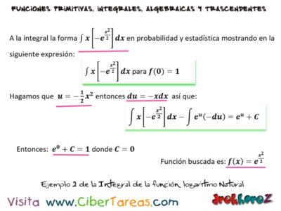 Integral de la Función Exponencial con Ejemplos – Cálculo Integral 3
