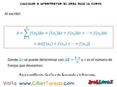 Sumando a la Riemann – Cálculo Integral 0
