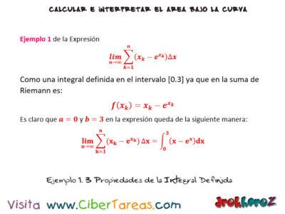 Ejemplos de las Propiedades de la Integral Definida – Cálculo Integral 0