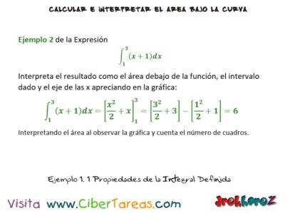 Ejemplos de las Propiedades de la Integral Definida – Cálculo Integral 2