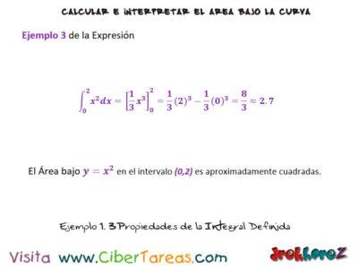 Ejemplos de las Propiedades de la Integral Definida – Cálculo Integral 4