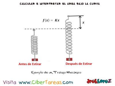 Trabajo Mecánico con Ejemplos – Cálculo Integral 3