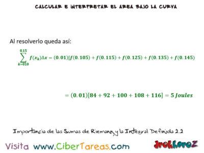 Ejemplos de la Importancia de las Sumas de Riemann y la Integral Definida- Cálculo Integral 3