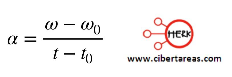 Movimiento circular uniformemente acelerado – Física 1 4