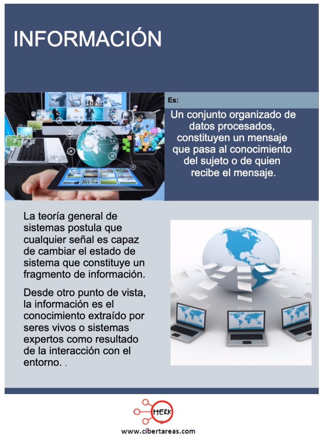 Definición y tipos de información – Sistemas de información 0