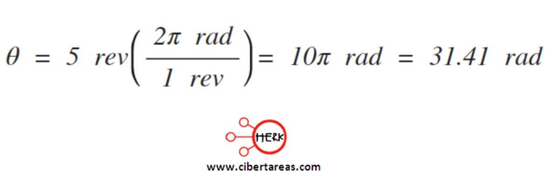 Velocidad angular instantánea, ejemplo – Física 1 0