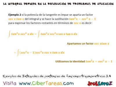 Ejemplos de Integrales de Potencias en Funciones Trigonométricas – Cálculo Integral 1