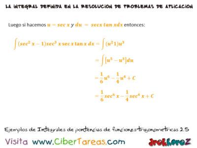 Ejemplos de Integrales de Potencias en Funciones Trigonométricas – Cálculo Integral 2