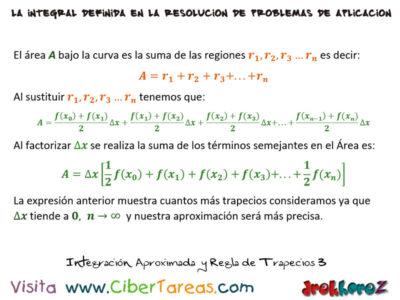 Integración Aproximada – Cálculo Integral 4